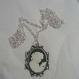 Cameo Style Necklace